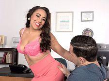 Gabriella Sky's wondrous oral-stimulation skills