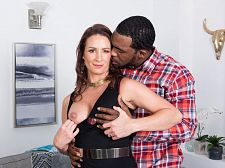 Ass-fucked by a big, dark-skinned cock