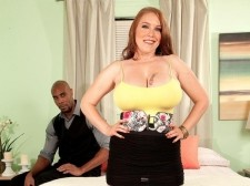 The Creamy Redhead & The Black Buttmaster