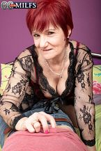 The horny 63-year-old and her step-son